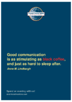 Black Coffee: Poster of BASF Toastmasters