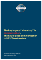 Chemistry: Poster of BASF Toastmasters