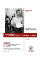 Characteristics of Effective Leaders (Workbook)